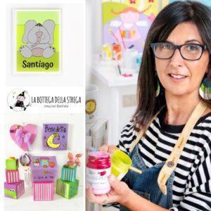 La Bottega della Strega, il progetto creativo per bambine e bambini