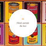 Think outside the box, ovvero ripensa al tuo brand con lo stile di Andy Warhol